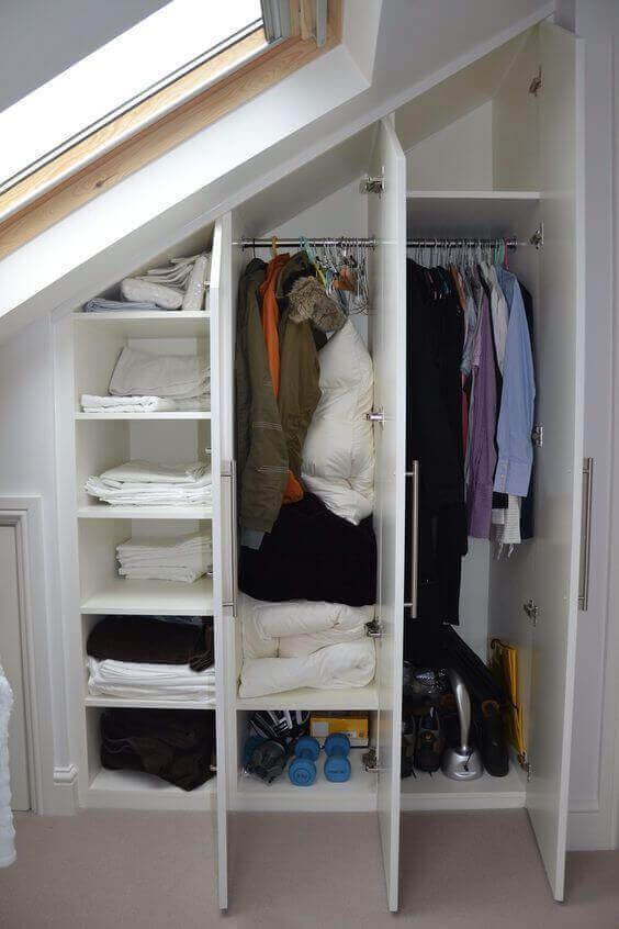 34 Best Examples Of Attic Closet Design Ideas Loft Conversion Wardrobes Loft Conversion Bedroom Loft