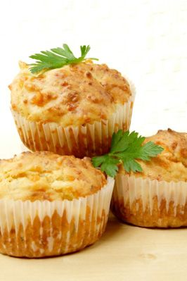 Muffins, Cheddar and Savory muffins on Pinterest