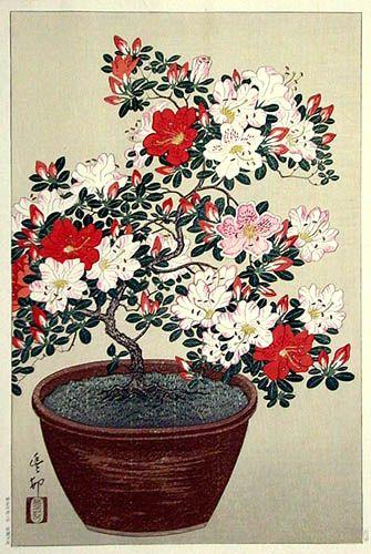 Ohara Koson (1877-1945): Azalea:
