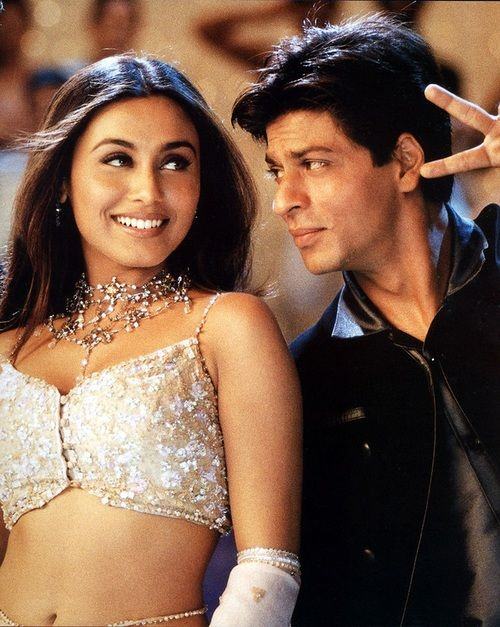 "Rani Mukherji & SRK dancing to the ""Say Shava Shava"" song 