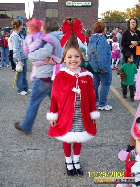 Cindy Lou Who Hair -- Look At That Smile! Funny Hair Makes
