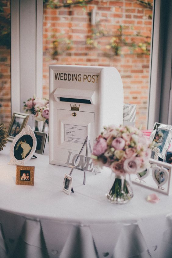 A Bride in Glasses And A Tea Length, 50's Inspired Frock For her Party at Braxted Park | Love My Dress® UK Wedding Blog