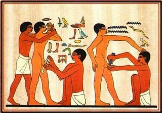 Circumcision - ancient Egyptian for 'Ouch'.
