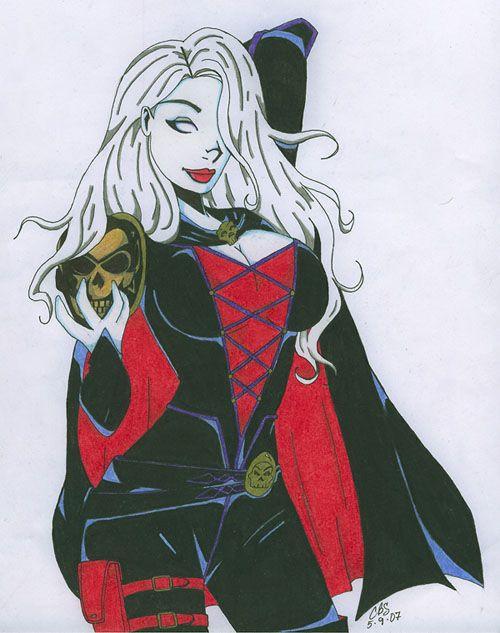 Medieval Lady Death by Slayer730 on DeviantArt