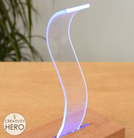 How To Bend Acrylic And Make Amazing Shapes Creativity Hero In 2020 Shapes How To Make Bows Acrylic