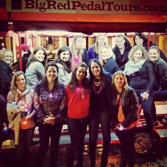First #bacheloretteparty of the season! #bigredpubcrawl