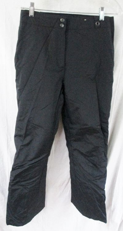 NEW Womens Adult OBERMEYER Winter Ski Snowboard Snow Pants BLACK 6 HYDRO BLOCK