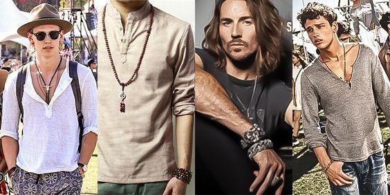 men's bohemian style