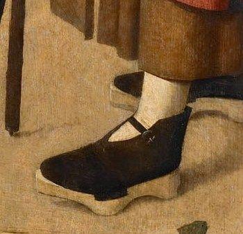 Geertgen tot Sint Jans, The Adoration of the Magi, detail, circa 1480-1485: