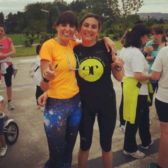 Eva y Cristina Mitré de #Elle  Carrera: 1 entre 100000 #running #Gijón