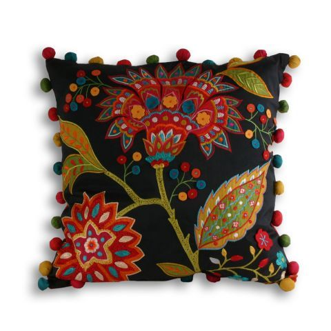 Paoletti Bengal Cushion in Multicolour – Next Day Delivery Paoletti Bengal Cushion in Multicolour from WorldStores: Everything For The Home