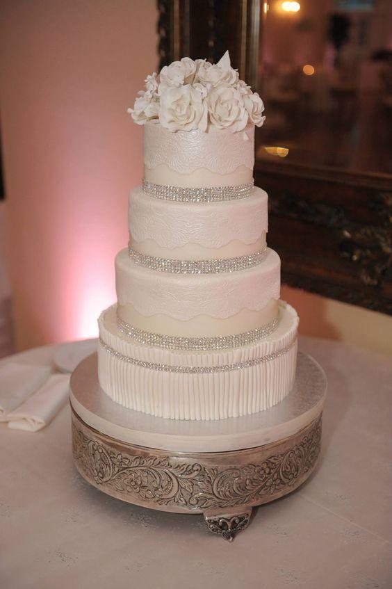 Wedding Planners - Eventrics Weddings   Venue - The Lange Farm   Photography - Asaad {AI} Images   Event Design - The Event Source Weddings   Wedding Cake - Party Flavors Custom Cakes   Wedding Reception   Wedding Cake