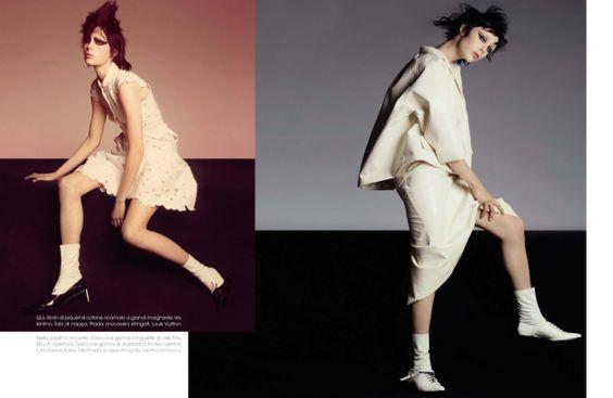 awesome Vogue Itália | Editorial de Moda Abril 2013 | Edie Campbell por Steven Meisel