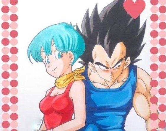 Imagenes De Amor De Vegeta Y Bulma Vegeta And Bulma Anime Bulma