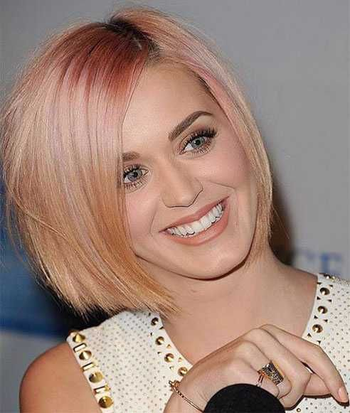 One Length Bob Hairstyle 2016