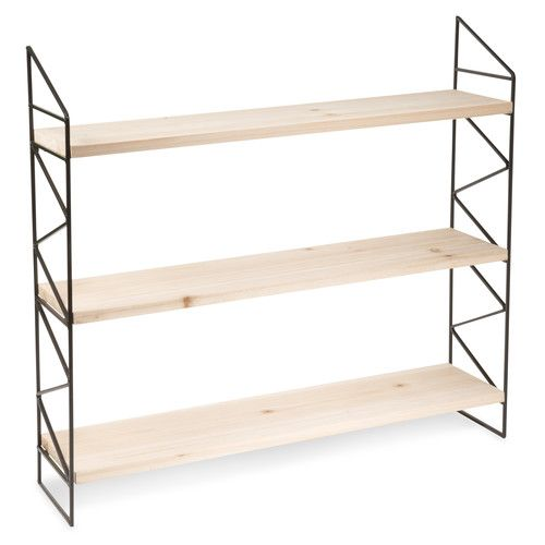 Tag res tag res en bois and murs de bois on pinterest for Peindre etagere bois