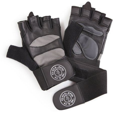 Golds Gym Wrist Wrap Gloves Strength Exercise Weight Training s//m//l