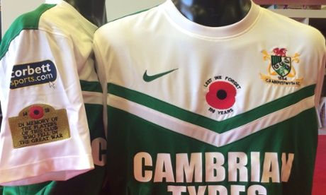 The only shirt to be seen in this summer. #Aberystwyth town FC make the Guardian!