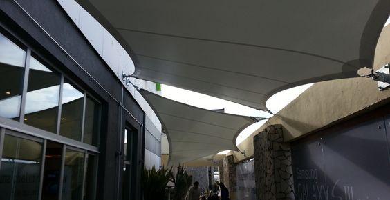 Local Samsung en Tortugas Mall | WAGG | Arquitectura Textil | Soluciones Tensadas