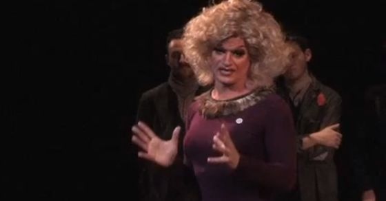This drag queen's brilliant response to homophobia will move you to tears