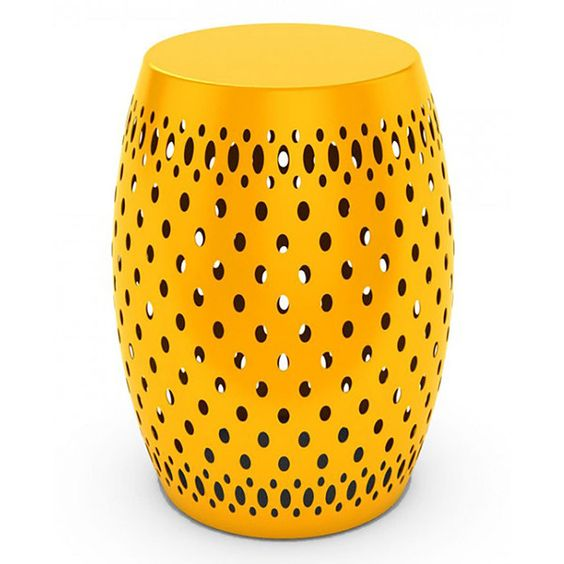 Dar Metal Garden Stool 70 Liked On Polyvore Featuring