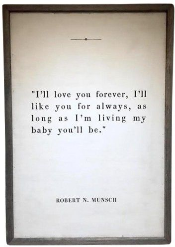 I'll Love You Forever Print