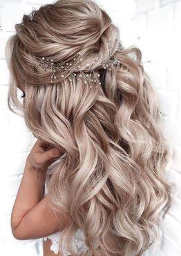 Wedding Hairstyles For The Most Beautiful Day Of Your Life In 2020 Hair Styles Long Hair Styles Elegant Hairstyles