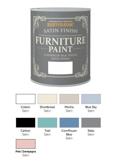 Rust Oleum Satin Furniture