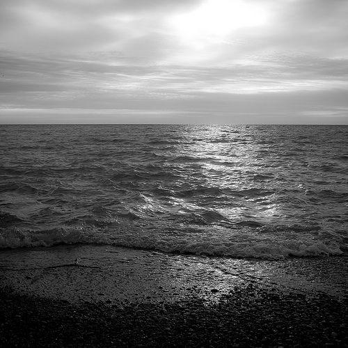 Morning at Lake Michigan