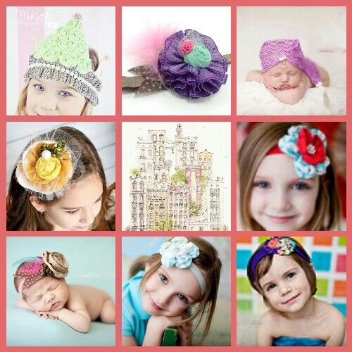 Beautiful headbands and photo props on this site! @halley Tsai Creations www.halocreationsshop.etsy.com