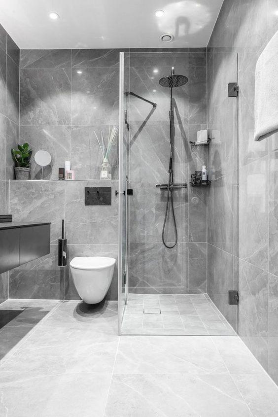 Moderne badkamerensembles in badkamerspiegels Uitschuifbare #modernbathroomensembles