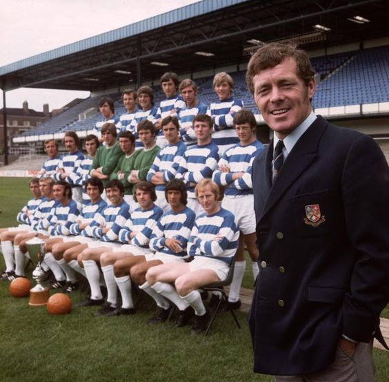 #QPR squad photo 1970 #Football #Reminiscence