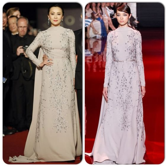 Carina Lau in Elie Saab Couture – 50th Golden Horse Awards