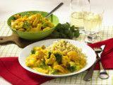 Hähnchen-Curry mit Zartweizen Rezept