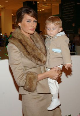 Melania Trump | The Trumps | Pinterest | Cream, Babies and ...