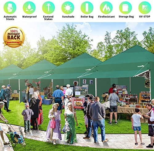 Best Seller Canopy Tent 10 X 10 Heavy Duty Pop Up Instant Shelters Outdoor Commercial Portable Canopy Tent Market Canopies Sidewalls Weight Bags Roller Bag Net In 2020 Canopy Tent Portable Canopy Canopy Outdoor