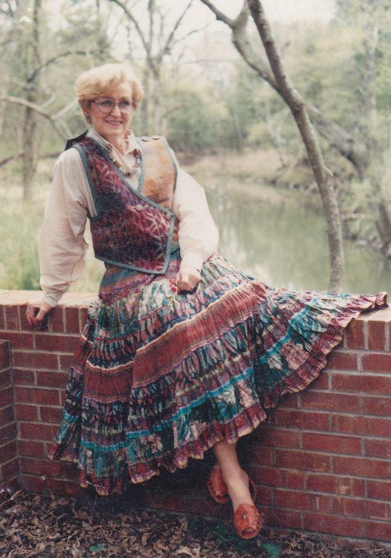 Broomstick Skirt Pattern, Dos de Tejas 5022