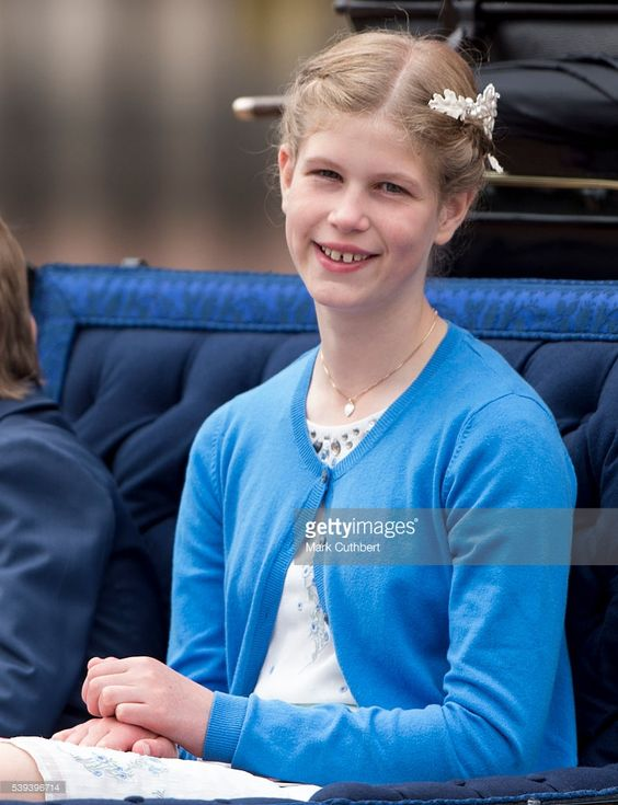 royalhats:  Trooping the Colour, June 12, 2016-Lady Louise Windsor