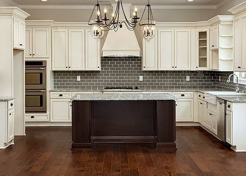 Cumberland Antique White Country Kitchen Cabinets Antique White