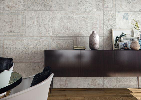 Painel de concreto - tapeçaria HD
