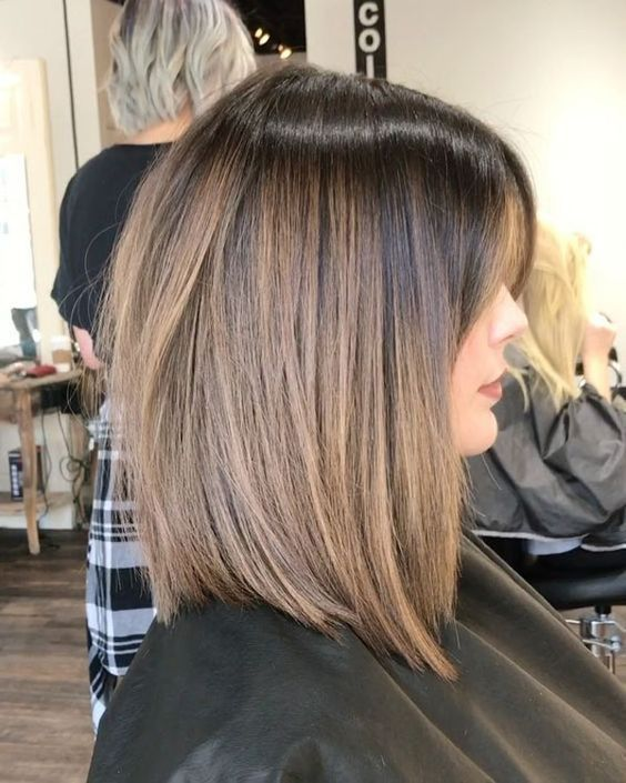 26+ Cute shoulder length hairstyles inspirations