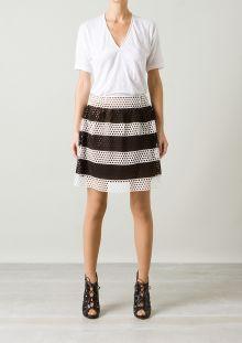 Marc Jacobs black and white skirt