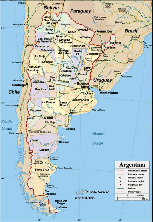Tourist map and information of Bolivia tourismbolivia – Tourist Map of Argentina