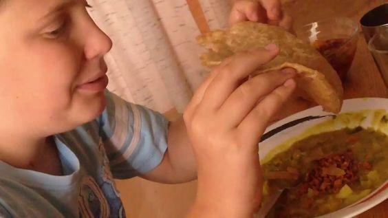Puris sind frittierte Chapatis - Rezept