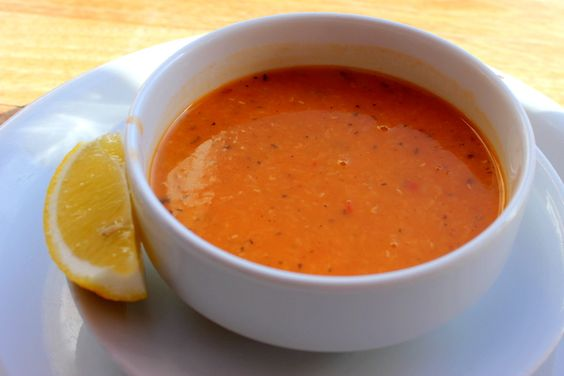 Mercimek Çorbası, Crema de lentejas rojas, Turquía