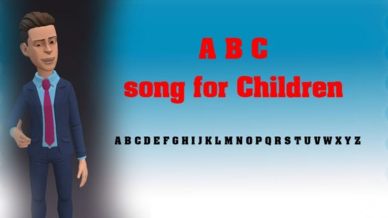 English abc song: ABC Song for Children
