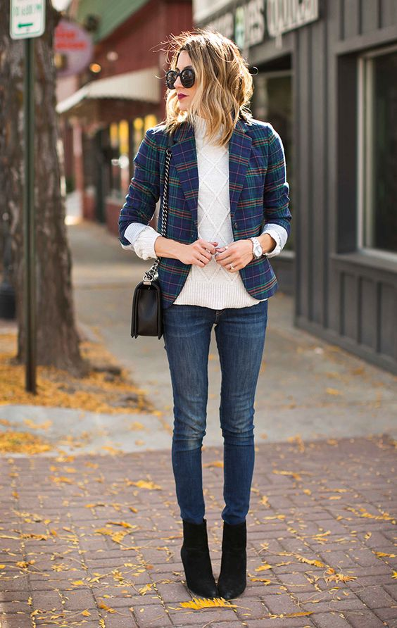 Target Real Talk Test Drive: 4 Tips to Style a Plaid Blazer