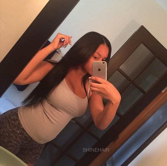 """Satisfied Customer ❤❤ Peruvian Straight Hair 18 20 22 inch DHL express ✈2~3 days 8~30"""" all in stock  www.aliexpress.com/store/209446  #peruvianstraighthair  #peruvianvirginhair #peruvianvirginhairstraight  #shinehair  #humanhair #hairextensions"""