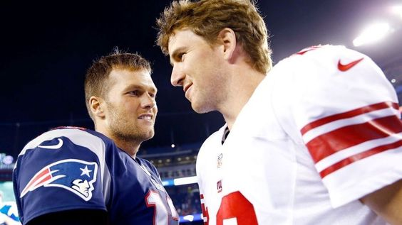 """The Patriots have defeated every team in the NFL since losing the 2008 Super Bowl, except for the New York Giants. Eli Manning responded by saying """"Caught 'em on the right nights, I guess."""""""