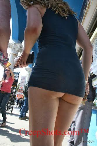 Ass In Short Dress 83